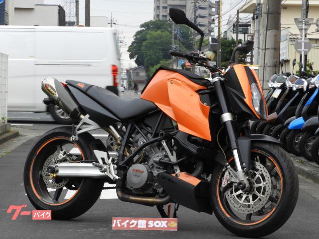 KTM 990スーパーデューク アクラポサイレンサー スライダーの画像(埼玉県
