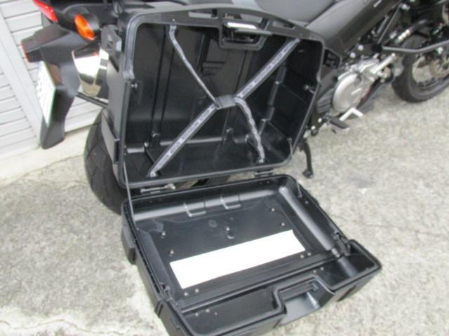スズキ V-ストローム650XT ABS  バイクナビ フルパニアケースの画像(福島県
