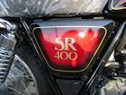 ヤマハ SR400 ワイズギア製サンバースト外装 新車の画像(福島県