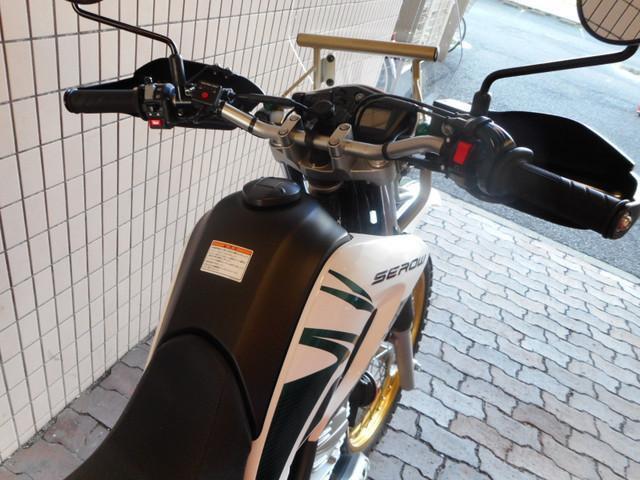 ヤマハ ツーリングセロー USBソケット グリップヒーター装備の画像(東京都