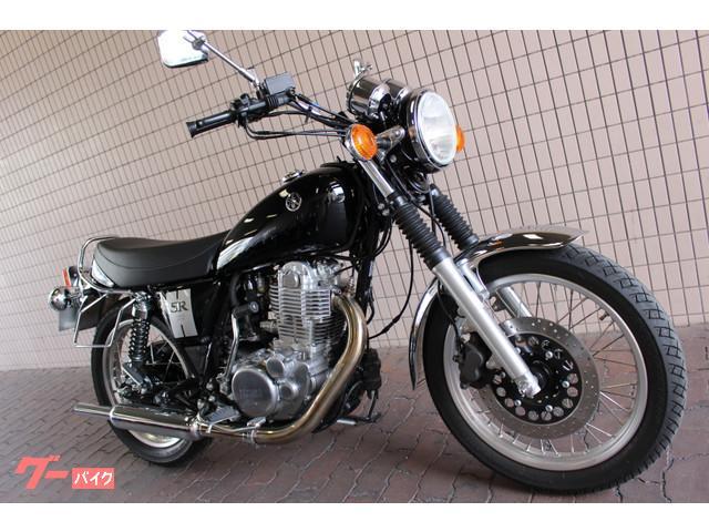 ヤマハ SR400 現行モデル ワンオーナー カスタム有りの画像(東京都