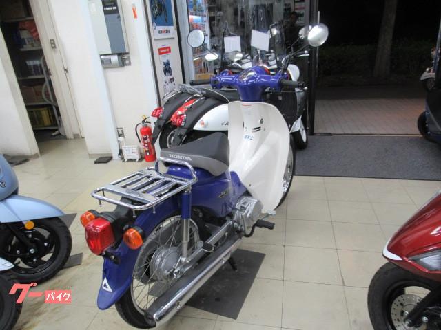 ホンダ スーパーカブ110 '09 前かご装着 グーバイク鑑定車の画像(神奈川県