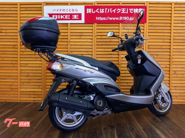 ヤマハ シグナスX スクリーン リアボックス装備の画像(静岡県