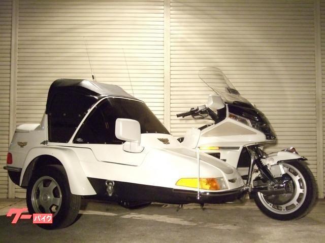 ゴールドウイング GL1500SE 4人乗り サイドカー