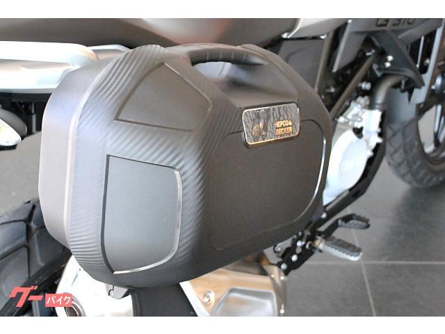 BMW G310GS ヘプコ&ベッカー製左右パニアケース USB電源付の画像(北海道