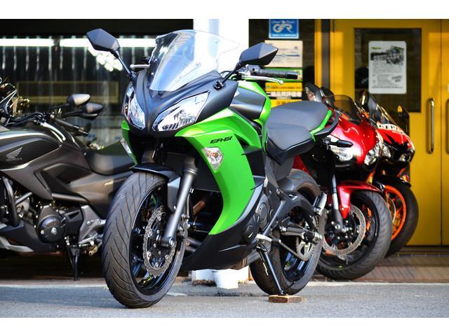 カワサキ Ninja 650 ER-6f EUR仕様の画像(東京都