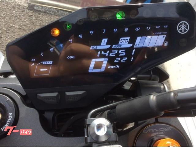 ヤマハ MT-09 SP 2018年モデル グリップヒーター リアBOXの画像(埼玉県