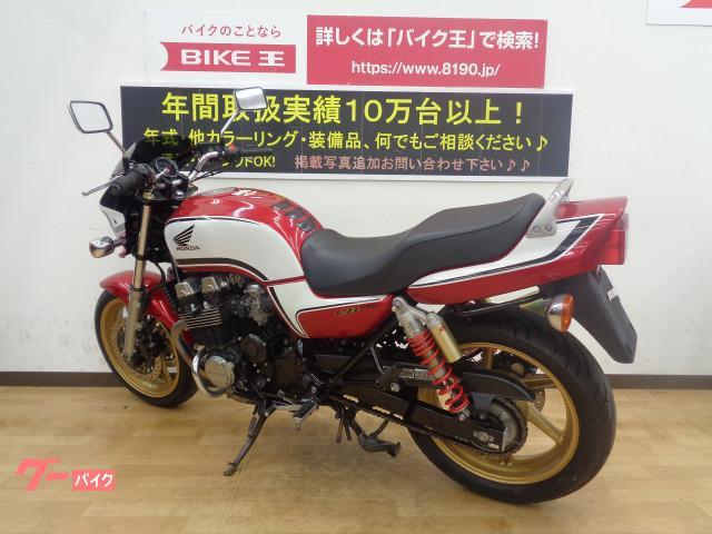 ホンダ CB750 社外マフラーカスタム エンジンガード&アラーム装備の画像(兵庫県