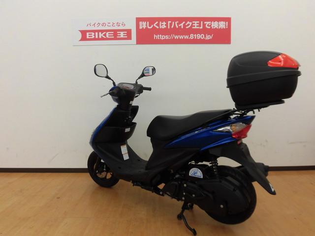 スズキ アドレスV125S CF4MA型 リアボックス装備の画像(兵庫県
