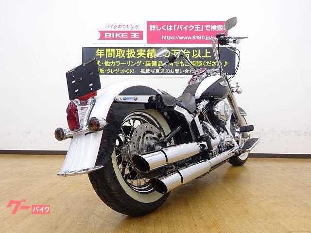 HARLEY-DAVIDSON FLSTN ソフテイルデラックス スリップオンマフラー ステップボード シートなどの画像(兵庫県