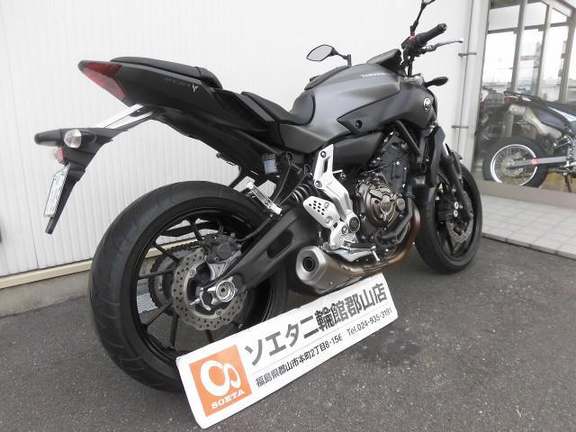 ヤマハ MT-07の画像(福島県