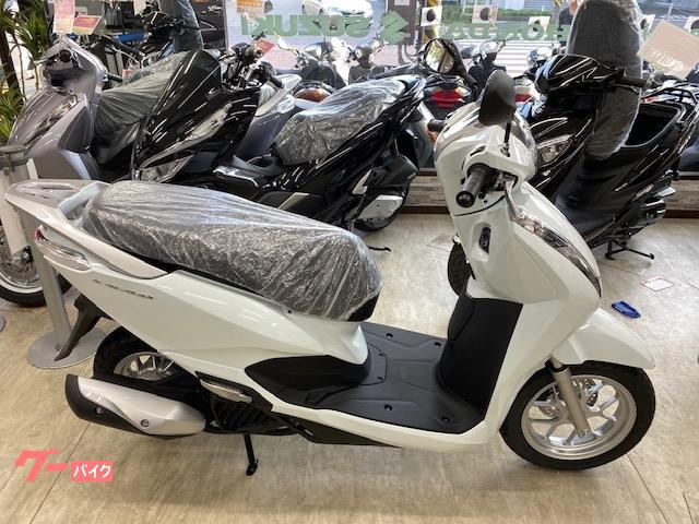リード125 最新モデル ホワイト