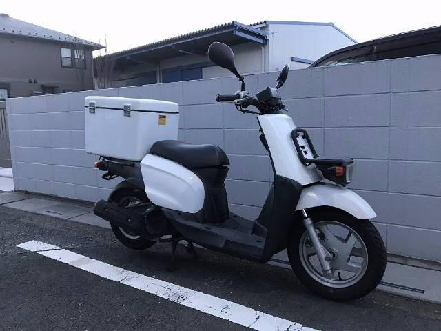 ヤマハ GEAR 4サイクル BOX付きの画像(埼玉県