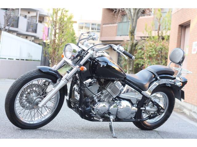 ヤマハ ドラッグスター400 ノーマルキャリア付きの画像(神奈川県