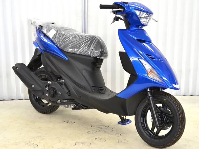 スズキ アドレスV125S 生産終了モデル ブルーの画像(埼玉県