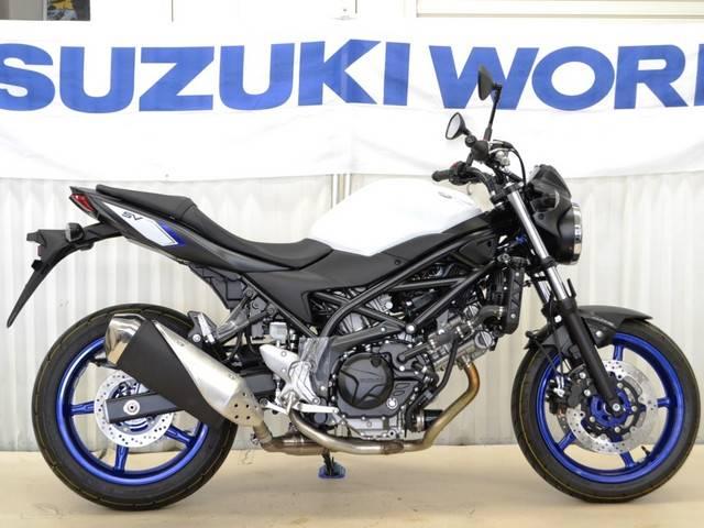スズキ SV650 ABS ブルーホワイトの画像(埼玉県