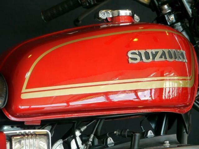 スズキ GT380 赤B4ノーマルコンディションの画像(東京都