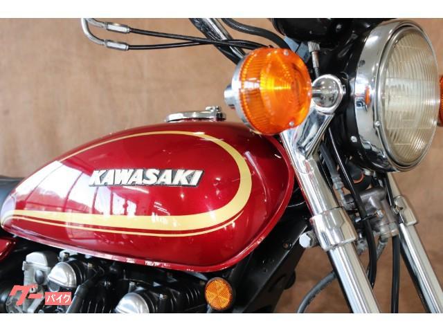 カワサキ Z750D1 純正フルノーマル ルミナスダークレッドの画像(東京都