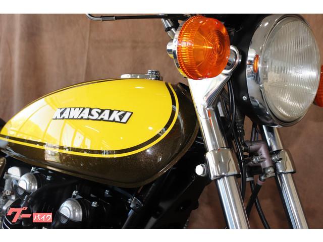 カワサキ KZ1000 Z1ルック キャンディートーンゴールドグリーンの画像(東京都