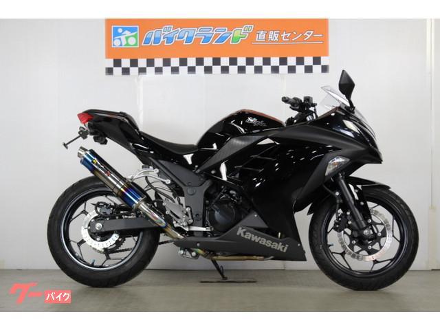 カワサキ Ninja 250 MOTOGEARプリズムツインフルエキゾーストマフラーの画像(東京都