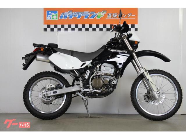 カワサキ KLX250 キャブモデル キックスターター リアキャリアの画像(東京都