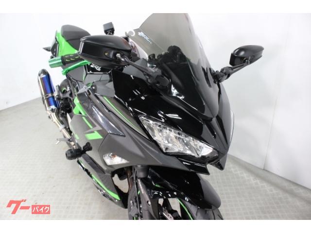 カワサキ Ninja 400 ABS ETC 社外スクリーン 社外ミラー ヨシムラマフラーの画像(東京都