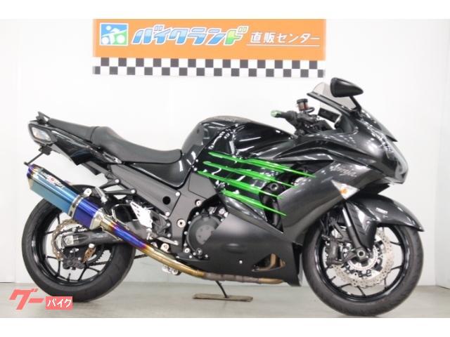 Ninja ZX−14R ABS ETC BEETマフラー リアフェンダーレス  ハンドル変更