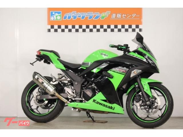 Ninja 250 リアフェンダーレス ヨシムラマフラー 社外レバー スライダー スクリーン