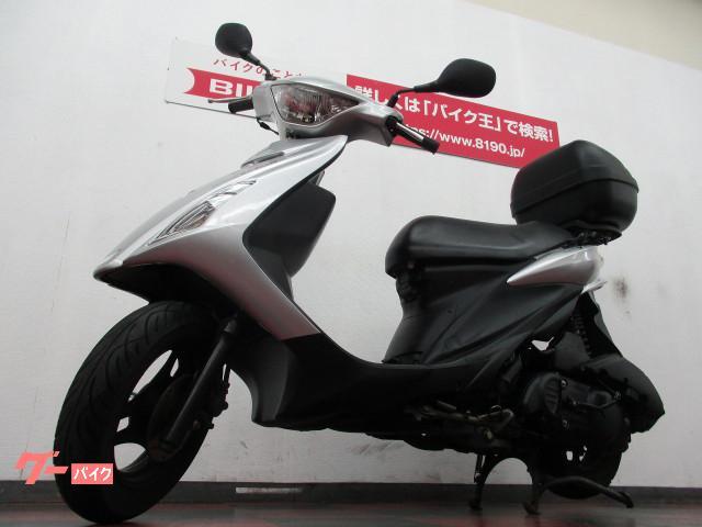 スズキ アドレスV125S 2010年モデル リアボックスの画像(奈良県