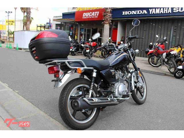 ヤマハ YB125SP リアBOX装備の画像(神奈川県