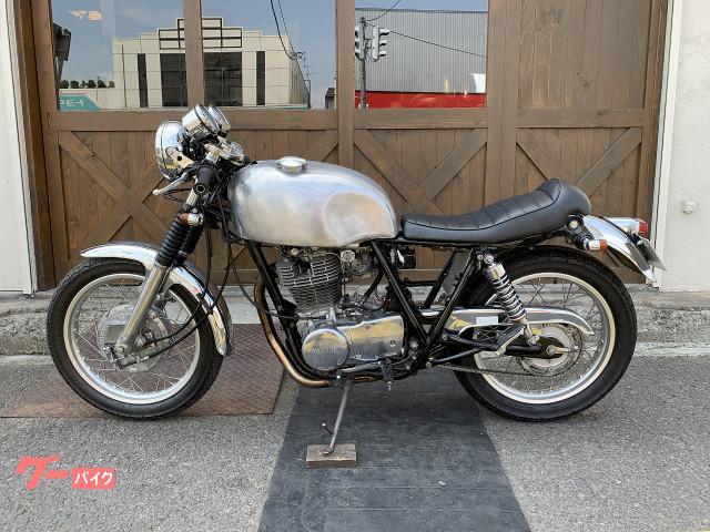 ヤマハ SR400 ハンドル シート スカチューンの画像(北海道