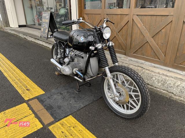 BMW R100RS スクランブラ- メガホンマフラー オンオフシートの画像(北海道