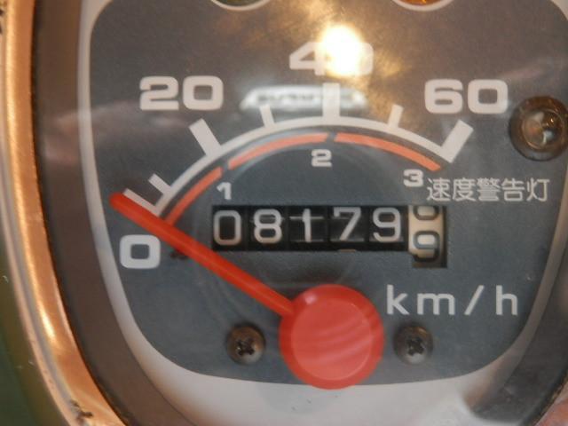 ホンダ スーパーカブ50 ワンオーナー 前後タイヤ新品 バッテリーNewの画像(埼玉県