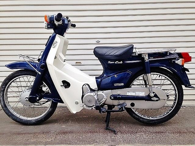ホンダ スーパーカブ50カスタム セル付き4速 国内生産 キャブレターモデルの画像(埼玉県