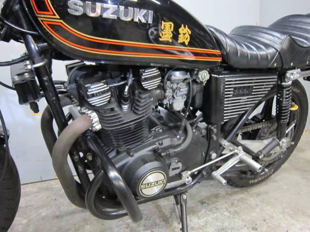 スズキ GS400 限定黒鈴カスタム・エンジンオーバーホール仕様・ウエダスイングアームの画像(東京都