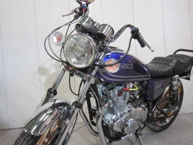 スズキ GS400 国内物オリジナル・450オーバーホール済みの画像(東京都