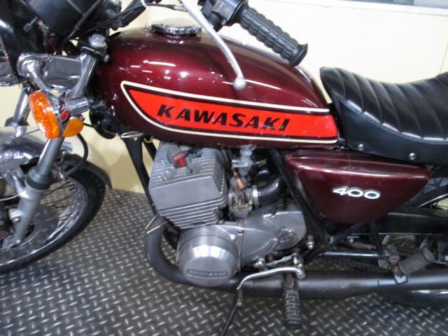 カワサキ KH400 チャンバー・タックロールの画像(東京都