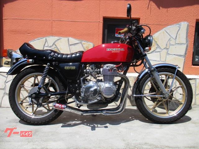 CB400F(398cc)キャストホイール・集合管・タックロールシート