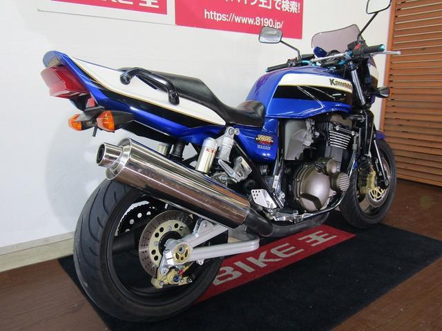 カワサキ ZRX1200R ハンドル SUPREME製シート MRA製スクリーンの画像(福岡県