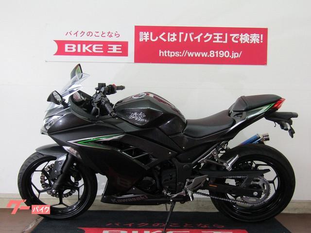 カワサキ Ninja 250 FI WR'Sマフラーの画像(福岡県