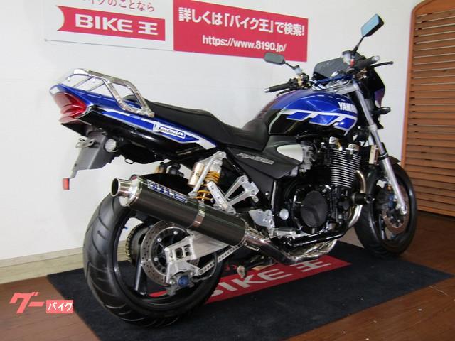 ヤマハ XJR1300 OVERマフラー 青ストロボの画像(福岡県