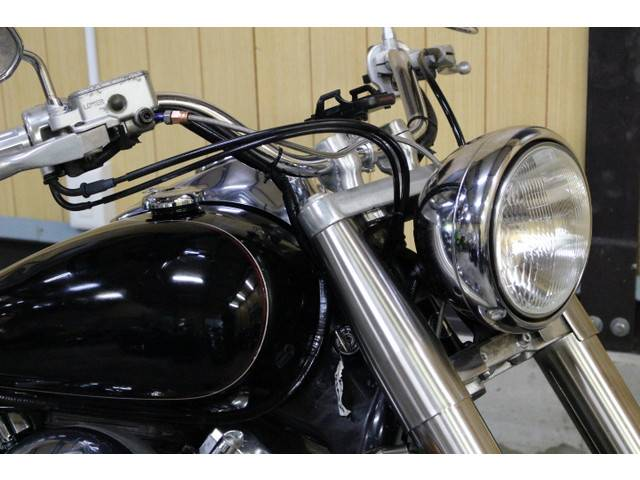 ヤマハ ドラッグスター400クラシック カスタムマフラー 4TRモデルの画像(東京都