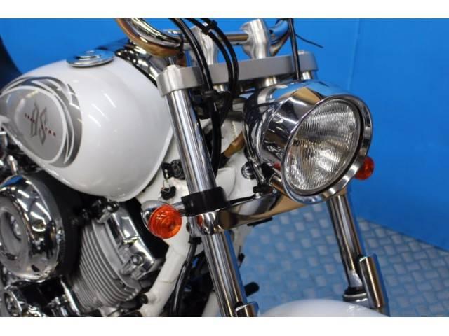 ヤマハ ドラッグスター400 カスタムマフラー デジメーター VH01Jモデルの画像(東京都