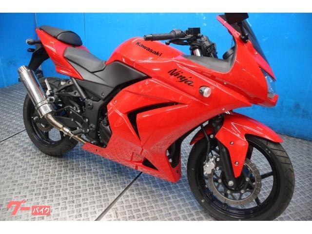 Ninja 250R カスタムマフラー インジェクション EX250Kモデル
