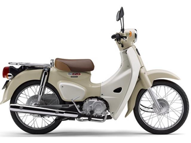 ホンダ スーパーカブ50 国内現行モデル ベージュの画像(千葉県