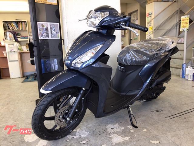 ホンダ Dio110 国内最新モデル フォギーブルーメタリックの画像(千葉県
