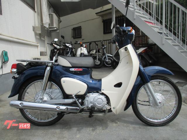 スーパーカブ50 AA09 ブルー