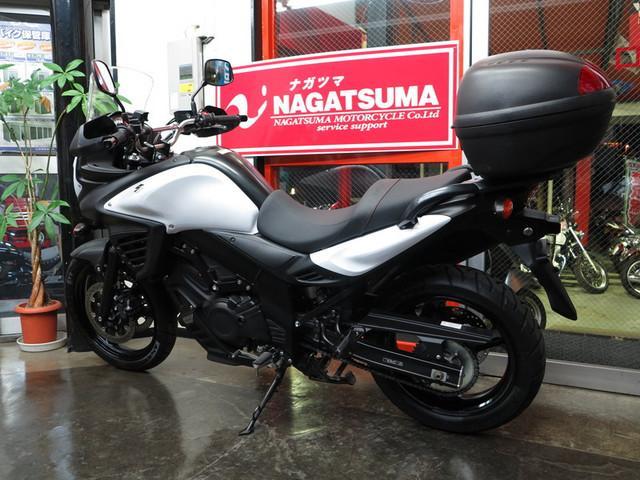 スズキ V-ストローム650 ABS オプション多数ローダウンの画像(千葉県