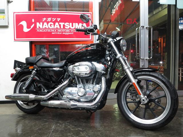 HARLEY-DAVIDSON XL883L スーパーロー オプション多数 二人乗り登録の画像(千葉県