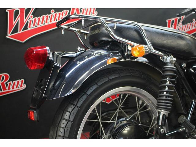 カワサキ W400 純正オプションリアキャリア タル型グリップの画像(千葉県